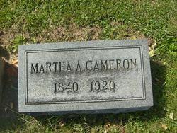 Martha A. <i>Fort</i> Cameron