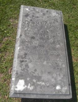 William Alexander Allen