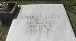 Minnie F. <i>Huguley</i> Armstrong