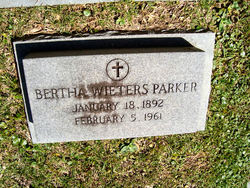 Bertha <i>Wieters</i> Parker