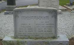 Adaline Amanda <i>Hollingsworth</i> Callison