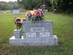 Mary E Sloas