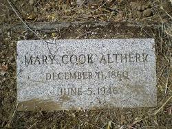 Mary Clementine Tiny <i>Morris</i> Altherr