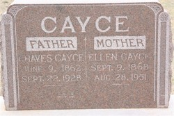 Margaret Ellen <i>Johnson</i> Cayce