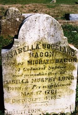 Isabella <i>Bourland</i> Bacon