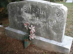 Marguerite D. Robinson