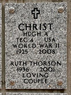Ruth E <i>Thorson</i> Christ