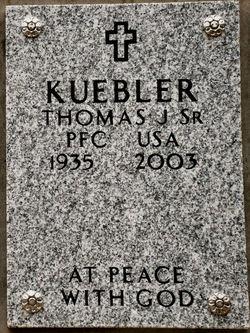 Thomas John Kuebler, Sr