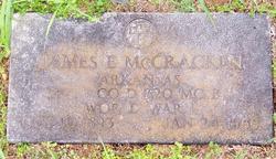 James E McCracken