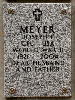 Joseph F Meyer