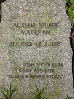 Alistair Stuart MacLean