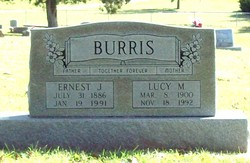Lucy M. Burris
