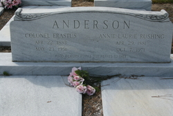 Annie Laurie <i>Rushing</i> Anderson