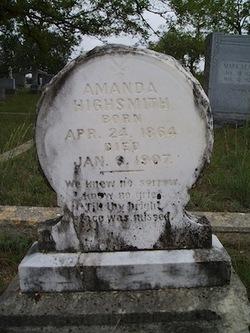 Amanda Anna <i>Medart</i> Highsmith