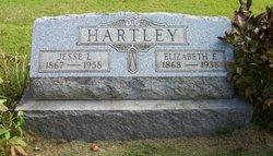 Elizabeth Ellen Lizzie <i>Lemley</i> Hartley
