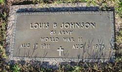 Louis B Johnson