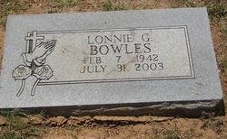 Lonnie Gilbert Bowles