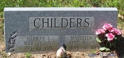 Marcella Hill <i>Garrett</i> Childers