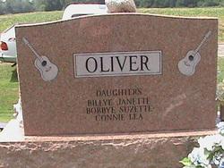 Mary Evelyn <i>Carter</i> Oliver