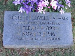 Elsie Elizabeth <i>Lovell</i> Adams