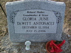 Gloria June <i>DeWitt</i> Antonacci
