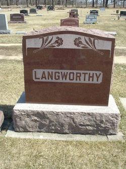 Esther Celestia <i>Leroy</i> Langworthy