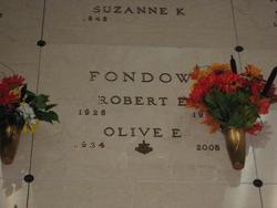 Olive E. <i>Ristow</i> Fondow