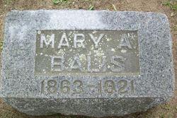 Mary A Balis