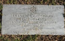 Francis E Goldsmith