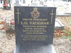Sgt Leonard George Vaughan