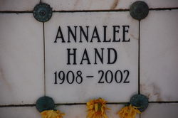 Annalee Evelyn <i>Berry</i> Hand