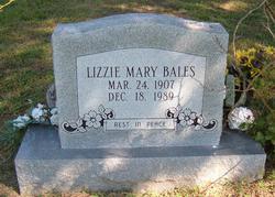 Mary Elizabeth Lizzie <i>Lovejoy</i> Bales