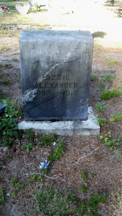 Elizabeth Lizzie Alexander