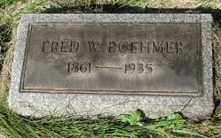 Frederick William Fred Boehmer