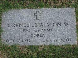 PFC Cornelius Alston, Sr