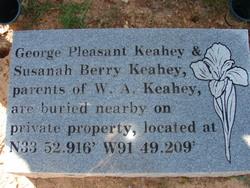George Pleasant Keahey