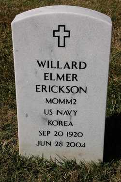 Willard Elmer Will Erickson