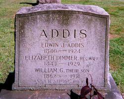 Edwin J Addis