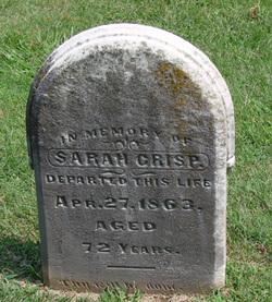 Sarah <i>Cranfield</i> Crisp