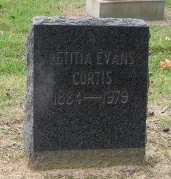 Letitia <i>Evans</i> Curtis