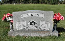 Jack A Acklin