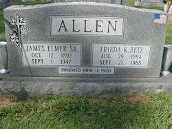Frieda Katherine <i>Betz</i> Allen