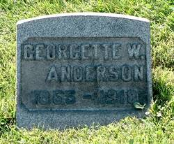 Georgette W. Anderson