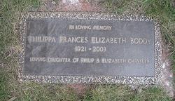 Philippa Frances Elizabeth <i>Chrysler</i> Boddy