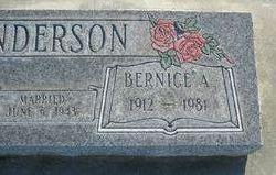 Bernice <i>Lindquist</i> Anderson