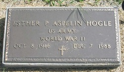 Esther Phoebe <i>Aspelin</i> Hogle