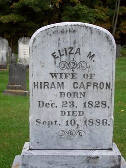 Eliza <i>Morse</i> Capron