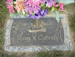 Mabel V <i>Jones</i> Crowder