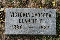 Victoria <i>Svoboda</i> Clanfield