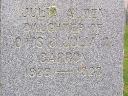 Julia Alden Capron